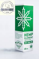 Hemp Element  CBD + CBDa 3%